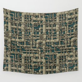 Pipes Wall Tapestry