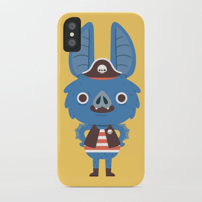 Pirate Bat iPhone Case