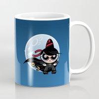 powerpuff girls Mugs featuring Powerpuff Bayonetta by Marco Mottura - Mdk7
