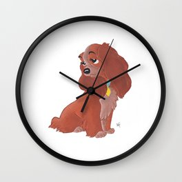 Lady - Lady And The Tramp Wall Clock