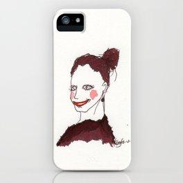 girl 1 iPhone Case