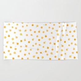 Oranges Beach Towel