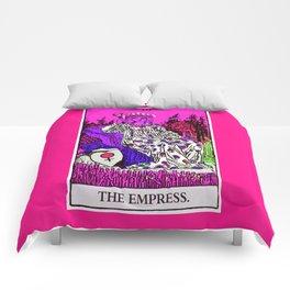 3. The Empress- Neon Dreams Tarot Comforters