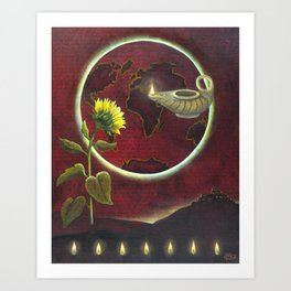 I AM the Light of the World Art Print