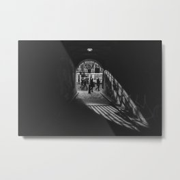 Light at the end of the tunnel. Metal Print