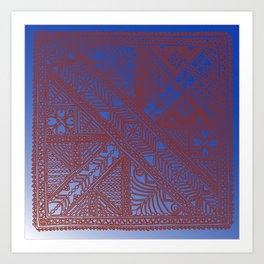 Trip to Morocco, direct to Marrakesh Art Print