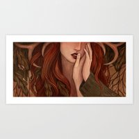 Sillage Art Print