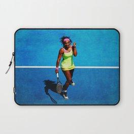 Serena Williams Tennis Celebrating Laptop Sleeve