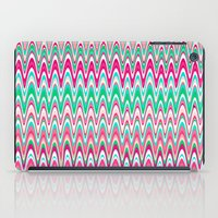preppy iPad Cases featuring Making Waves Pink and Preppy by Shawn King