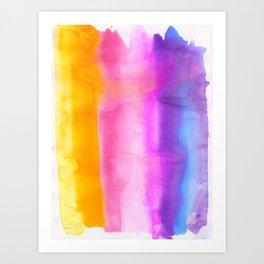 Chromatography Art Print