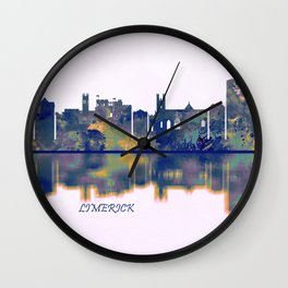 Limerick Skyline Wall Clock