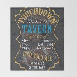 Touchdown Tavern Throw Blanket