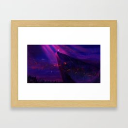 Sing With All the Voices of a Mountain Framed Art Print