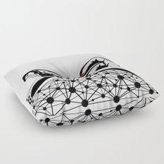 the Weaver Floor Pillow