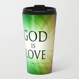 God is Love - Bible Lock Screens Travel Mug