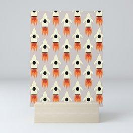 Rocket collection 2 Mini Art Print