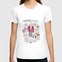 leslie knope T-shirts featuring Queen Leslie Knope by Tyler Feder