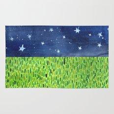 Grass & Stars Rug