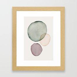 calm Framed Art Print