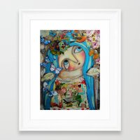 creativity Framed Art Prints featuring Creativity by Dulcamara