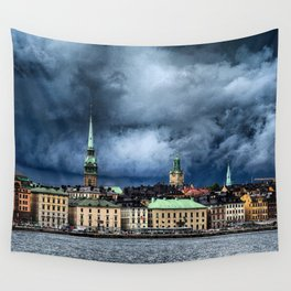 Stockholm Wall Tapestry