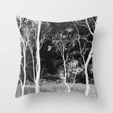 Bush Spirits Throw Pillow