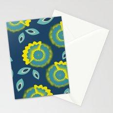 Slice flowers Stationery Cards