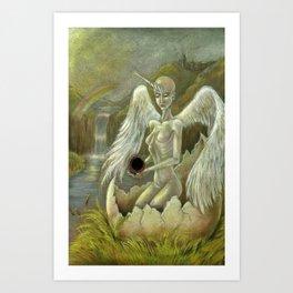 'Remembering the World' Art Print