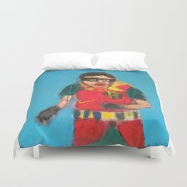 Boy Wonder! Duvet Cover