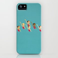 Synchronized Swimmers Slim Case iPhone (5, 5s)