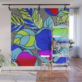 Wild Popppies Wall Mural