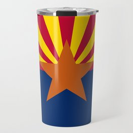 Arizona flag Travel Mug