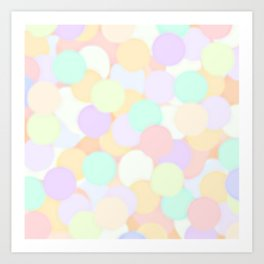 Mini Mallows Art Print