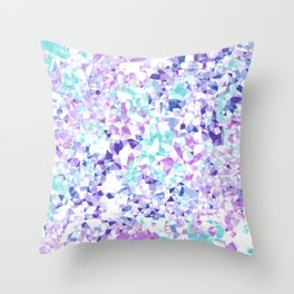 Colorful Triangles 2 Throw Pillow