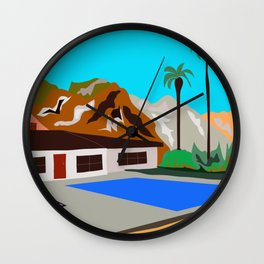 SoCal So Cool Wall Clock