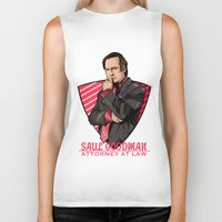 lawyer Biker Tanks featuring You need a lawyer? by Akyanyme