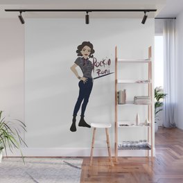 Rockin Roni - Regina - Lana Parrilla, Once Upon A Time Wall Mural