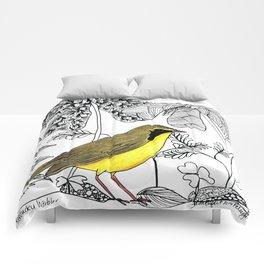 Kentucky Warbler Comforters
