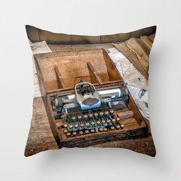 Blickensderfer Typewriter Throw Pillow