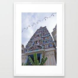 Sri Mahamariamman Framed Art Print