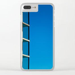 Getty Glass Clear iPhone Case