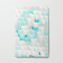 Blocks N7 Metal Print