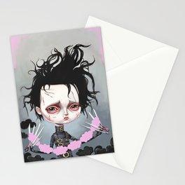 Edward Scissorhands Is Sad Stationery Cards