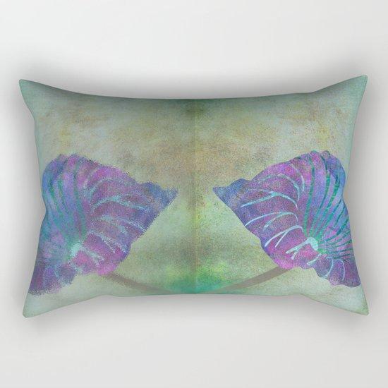 Tropical pond Rectangular Pillow