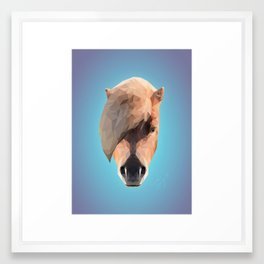 Fab Poly Pony Framed Art Print
