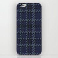 plaid iPhone & iPod Skins featuring Plaid by Xiao Twins