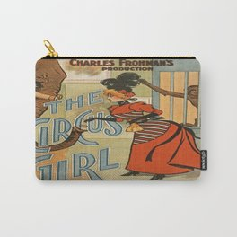 Vintage poster - The Circus Girl Carry-All Pouch
