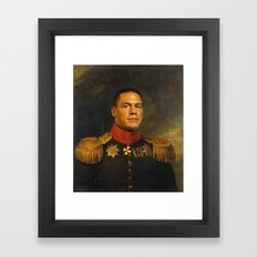 John Cena - replaceface Framed Art Print