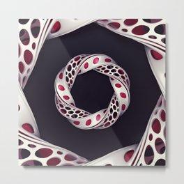 Pattern - Mobious Metal Print