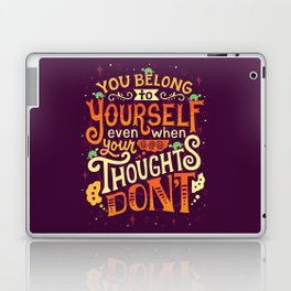 Thoughts are only thoughts Laptop & iPad Skin